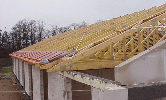 Dachkonstruktion für Seniorenwohnheim in Niebüll