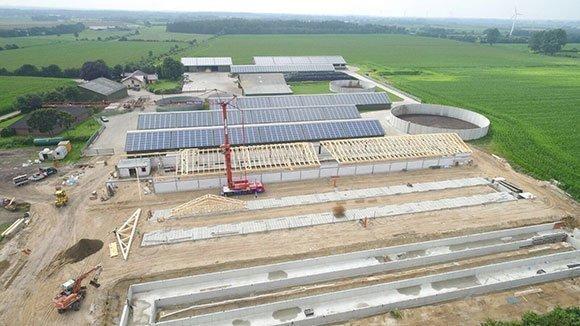 Dachkonstruktion mit besonderen Brandschutzanforderungen Silberstedt 3
