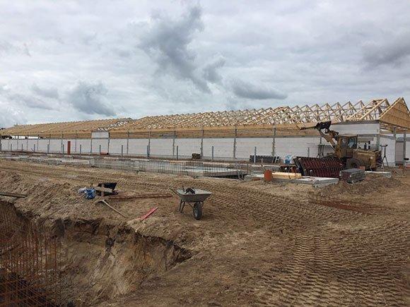Dachkonstruktion mit besonderen Brandschutzanforderungen Silberstedt 5