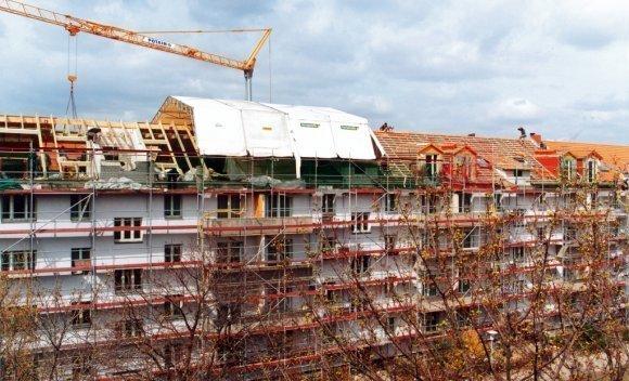 dachsanierung rückbau und aufstockung in berlin adlershof