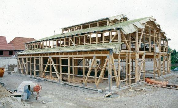 Holzskelettbau in Wolfsburg