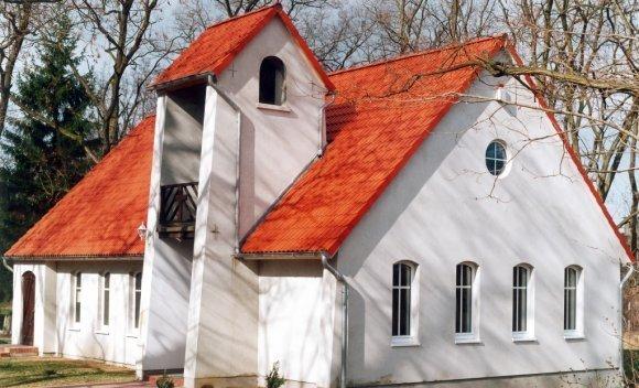 Dachkonstruktion mit Satteldach von SCHNOOR – Kirche in Königsborn 1