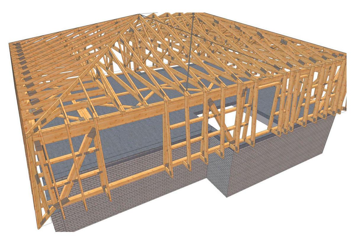 konstruktion auskragendes mansarddach in giessen
