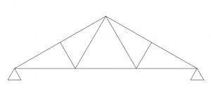 Nagelplattenbinder – Fachwerkbinder
